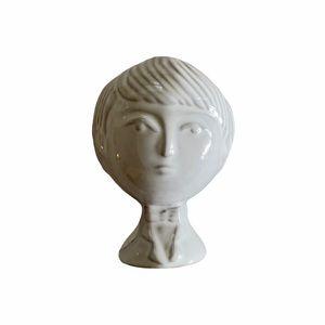 Jonathan Adler Utopia Boy Girl Bud Stoneware Vase